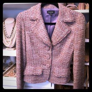 Bebe Tweed Blazer